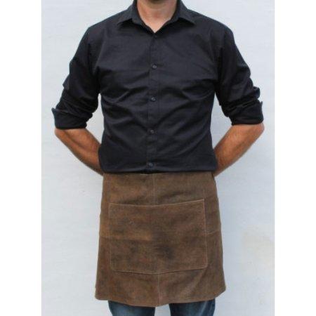 Læder forklæde i brun - Stuff Design