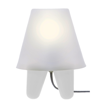 Dab lampe - hvid
