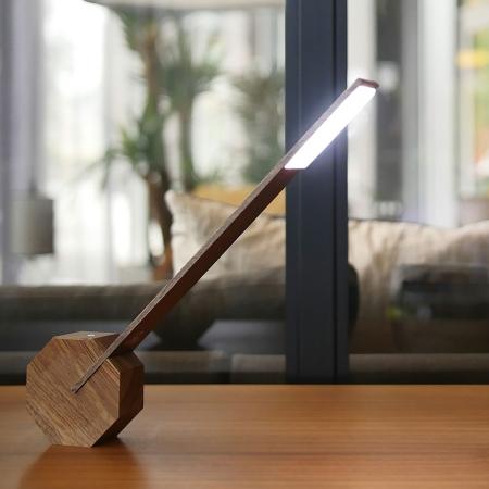 Lampe Octagon - brun