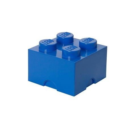 LEGO klods til opbevaring - Brick 4 blå