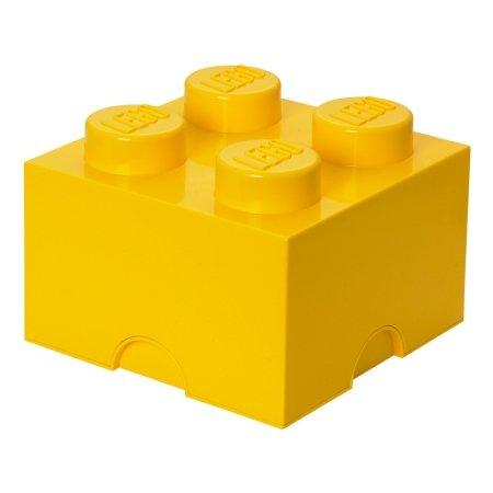LEGO klods til opbevaring - Brick 4 gul