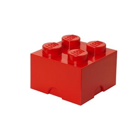 LEGO klods til opbevaring - Brick 4 rød