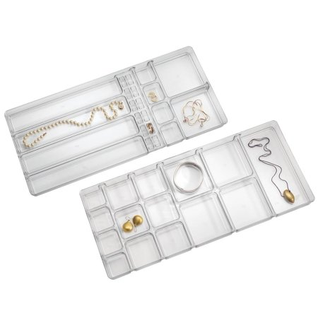 Smykkebakke i akryl - stor