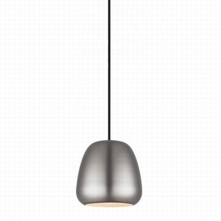 Pendel i børstet stål - Løkken lampe