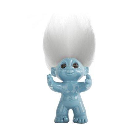 Lykketrolde - blå 9 cm