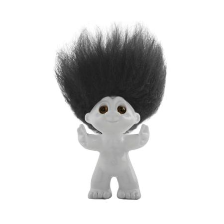 Lykketrolde - hvid 9 cm