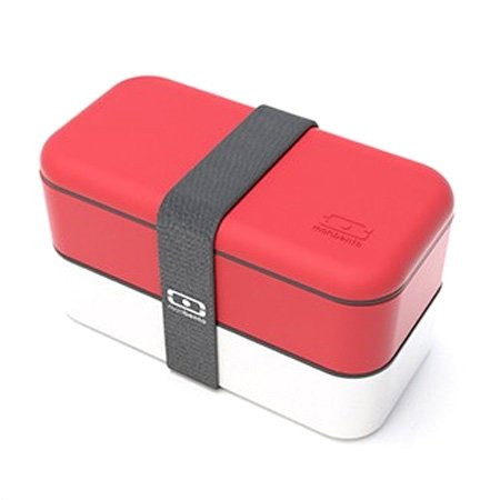 Monbento Original r�d/hvid madkasse - The bento box