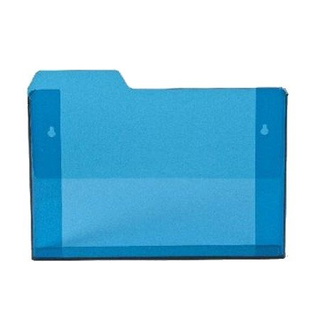 Kasse i bl� akryl