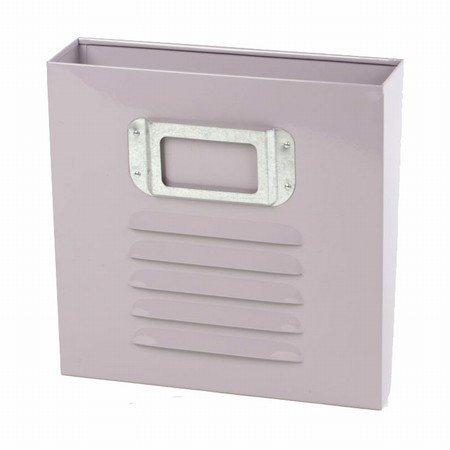 Magasinholder til væg - rosa/lilla