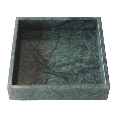 Bakke i gr�n marmor