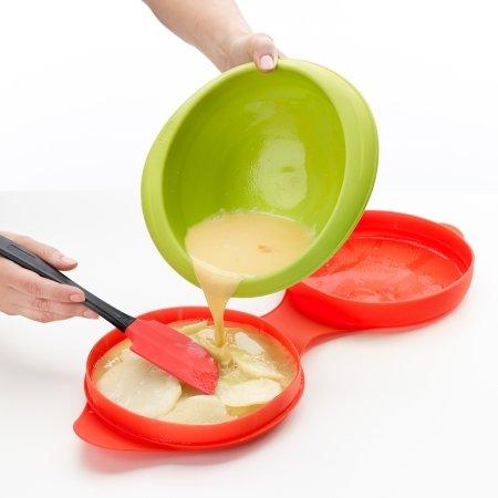 Omeletform til microovn