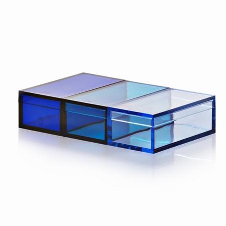 Momabox 2 - 3 stk. blå