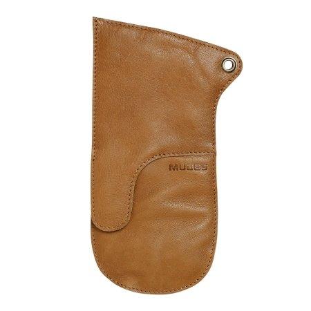 Grillhandske brun læder - Muubs