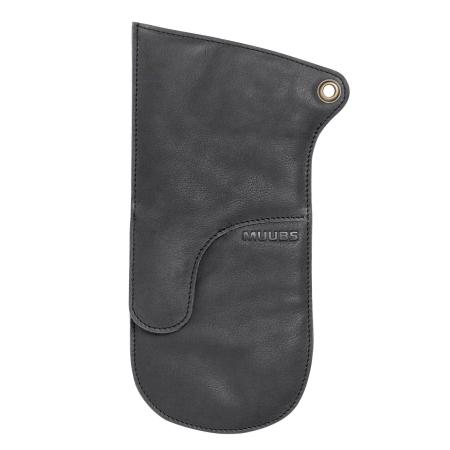 Grillhandske sort læder - Muubs