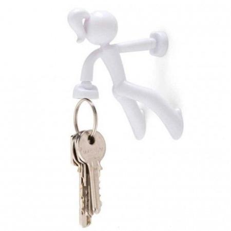 Key Petite - hvid nøgleholder