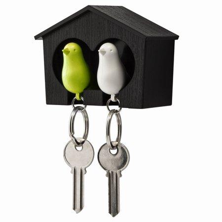 Qualy fugle hus med 2 n�gleringe