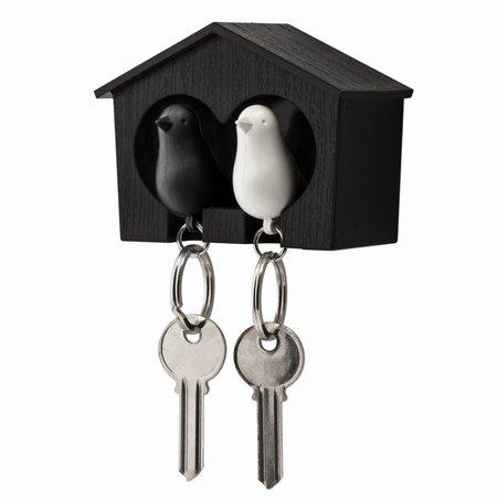 Qualy fugle hus med 2 fugle