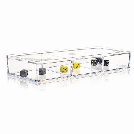 Nomess Clear 3-room box med låg