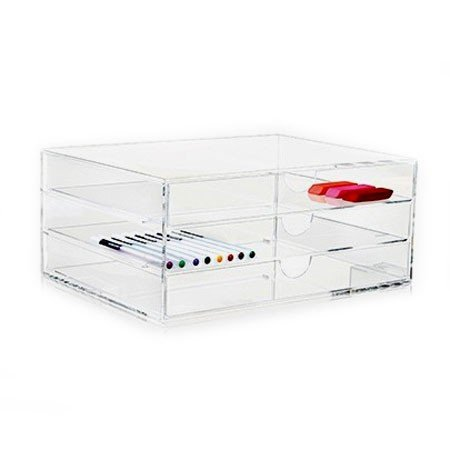 Nomess Clear 3 drawer - A4