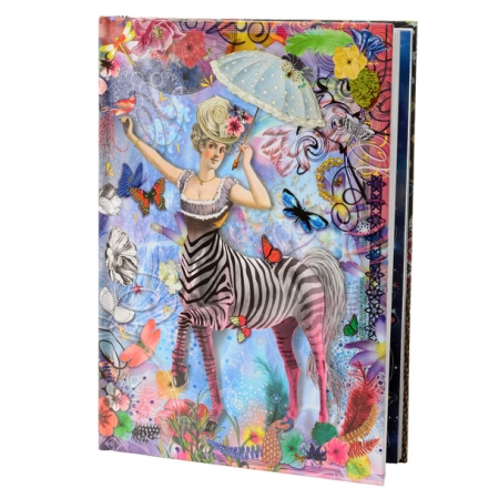 Christian Lacroix notesbog - Zebragirl