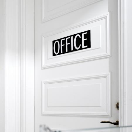 Sign i sort læder - OFFICE