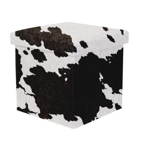 Opbevaringskasse / stol - ko mønster