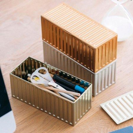 Opbevaringsbokse container - 3 stk.