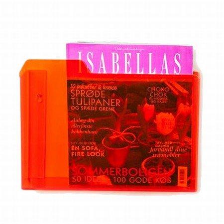 Kasse i orange akryl