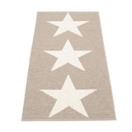 Pappelina gulv løber med stjerner - mud