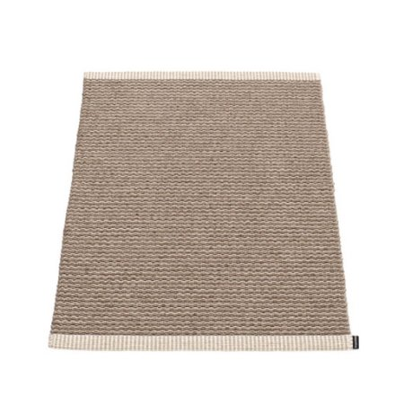 Pappelina gulvmåtte - Mono dark mud 60x85 cm