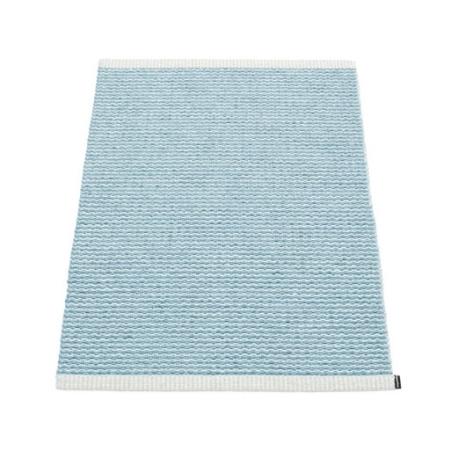 Pappelina dørmåtte - Mono misty blue 60x85 cm