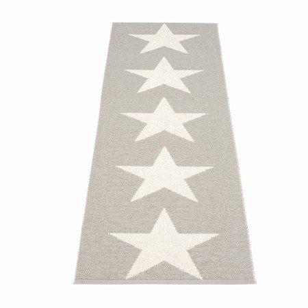 Pappelina gulv l�ber med stjerner - warm grey