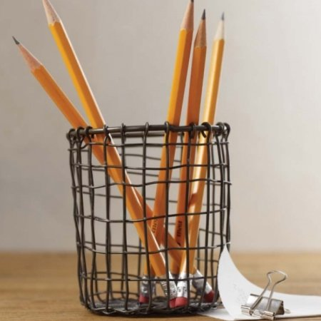 Pen holder i metal wire