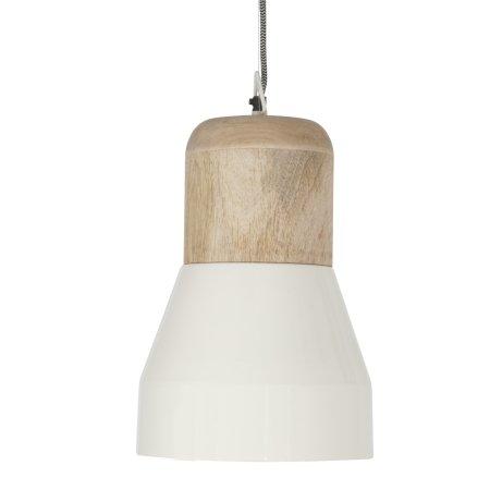 Loft lampe Bold wood - hvid large