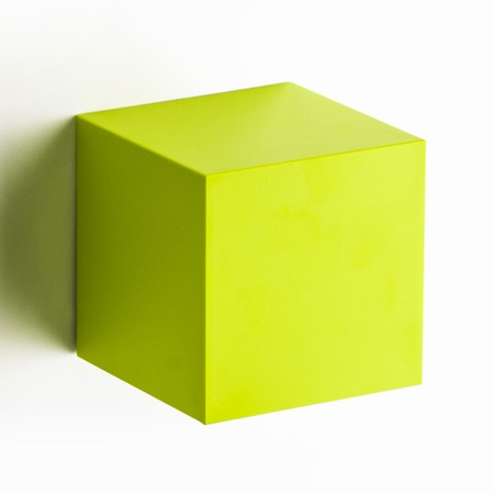 Pixel Cube - lime