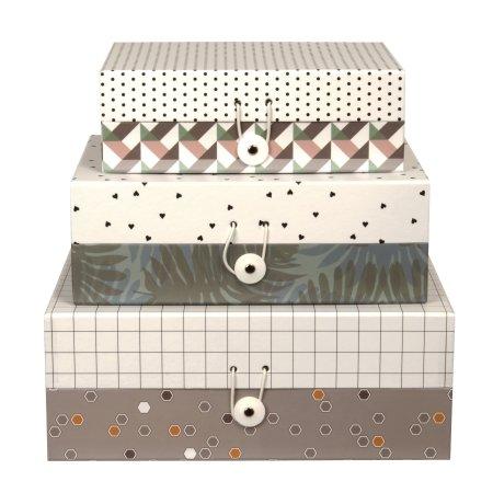 Opbevarings kasser - 3 stk.