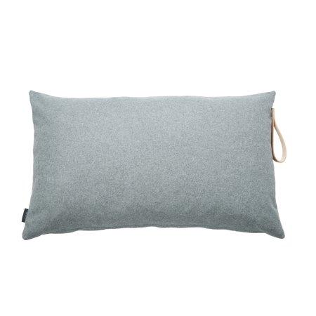 Pude - uld grå