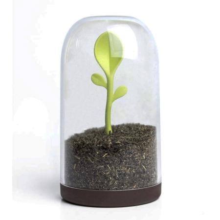 Opbevaringsglas med ske - Sprout Jar