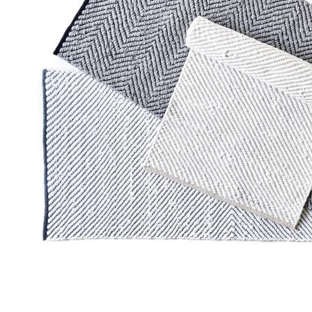Rain tæppe White/Grey 75x200 cm