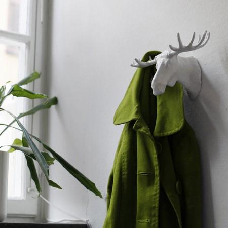 Moose Hook - elg knage hvid