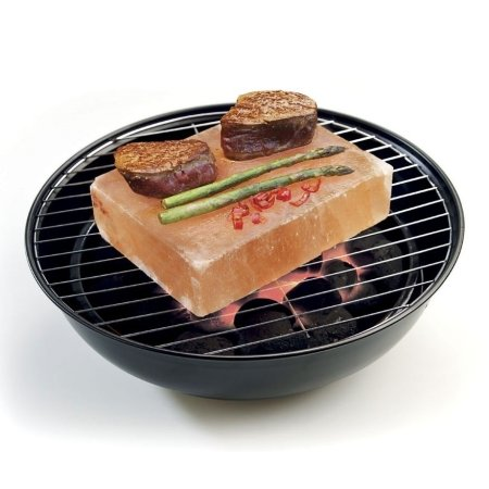 Rivsalt - BBQ grill salt blok