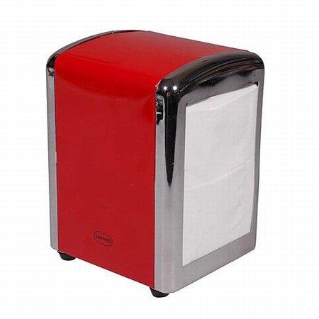 Cabanaz servietholder - rød