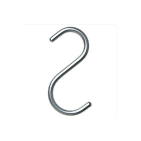 S-hook mini i alu - 5 stk
