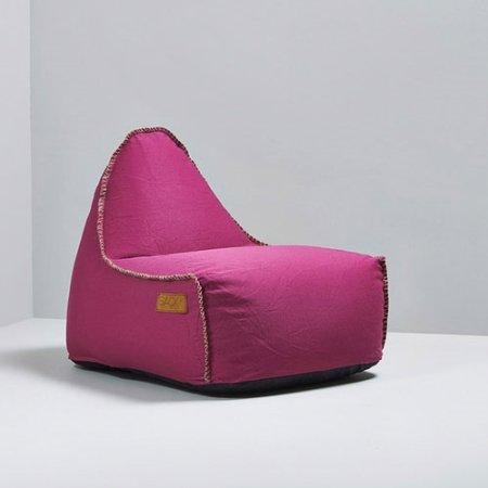RETROit Canvas sækkestol - pink
