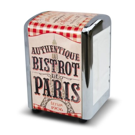 Serviet dispenser - Bistrot de Paris