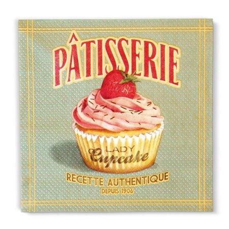 Servietter Lady Cupcake