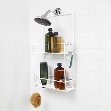 Cubiko shower caddy - hvid