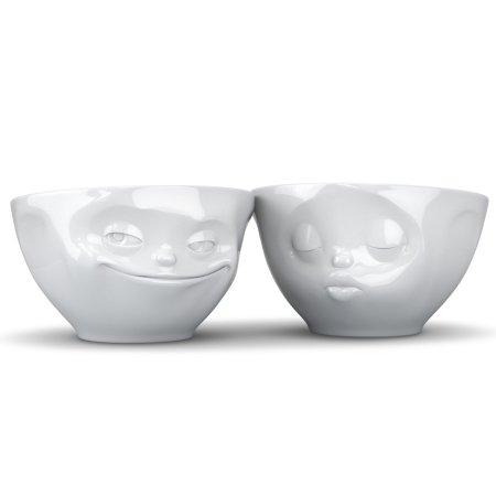Skåle med ansigter - Kiss & Grin