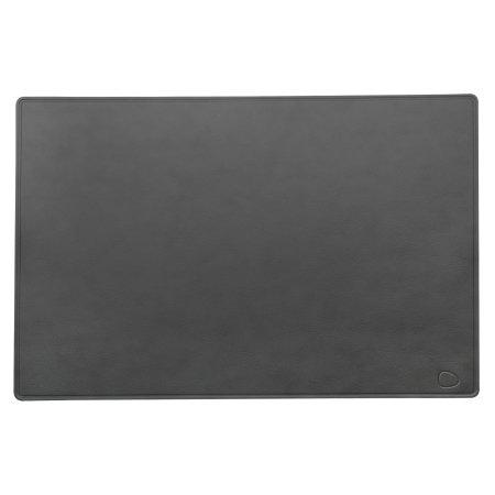 LIND DNA skrivebordsunderlag - grå læder XL