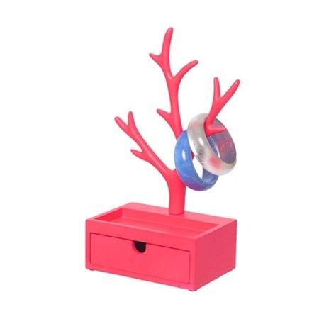 Pink smykketræ